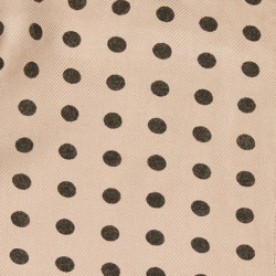 TUNIC DONA - GREY POLYWOOL GOLD DOTS