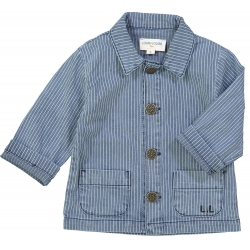 Jacket Victor Stripes Denim...