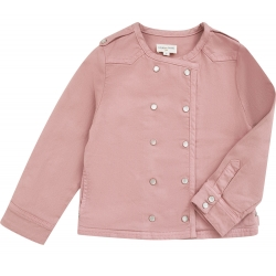 Veste Luco Denim - DARK PINK