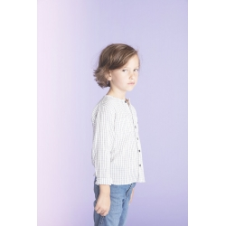 Shirt Baptiste Check Navy -...