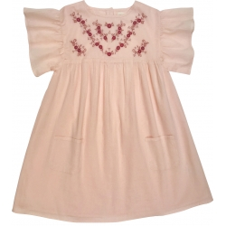 Dress Ava Cotton Veil - PINK