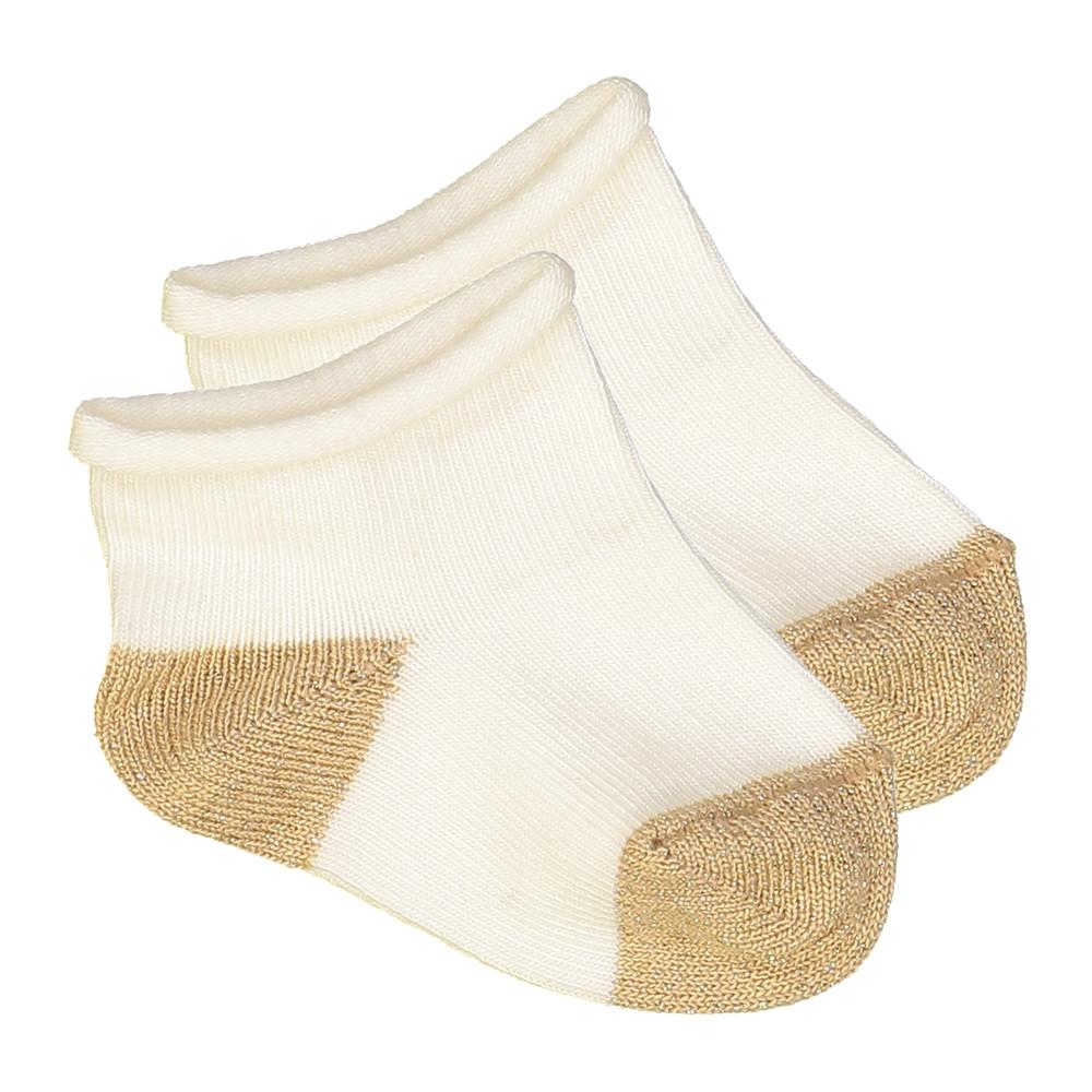 Socks Janet Cotton - GRIS...