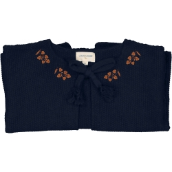 CARDIGAN EDITH MERINOS - NAVY