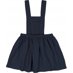 DRESS HEIDI POLYWOOL - NAVY
