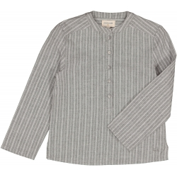 SHIRT GRAND-PERE STRIPE - GREY