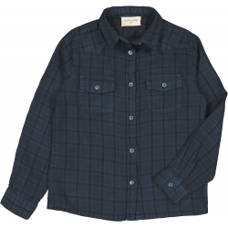 SHIRT LUKE CHECK - DARK BLUE