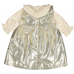 ROBE MARILY LAMÉ - GOLD