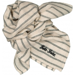 Scarf Sissi Stripes - BLACK...