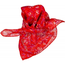 Scarf Sissi Indian Flower...