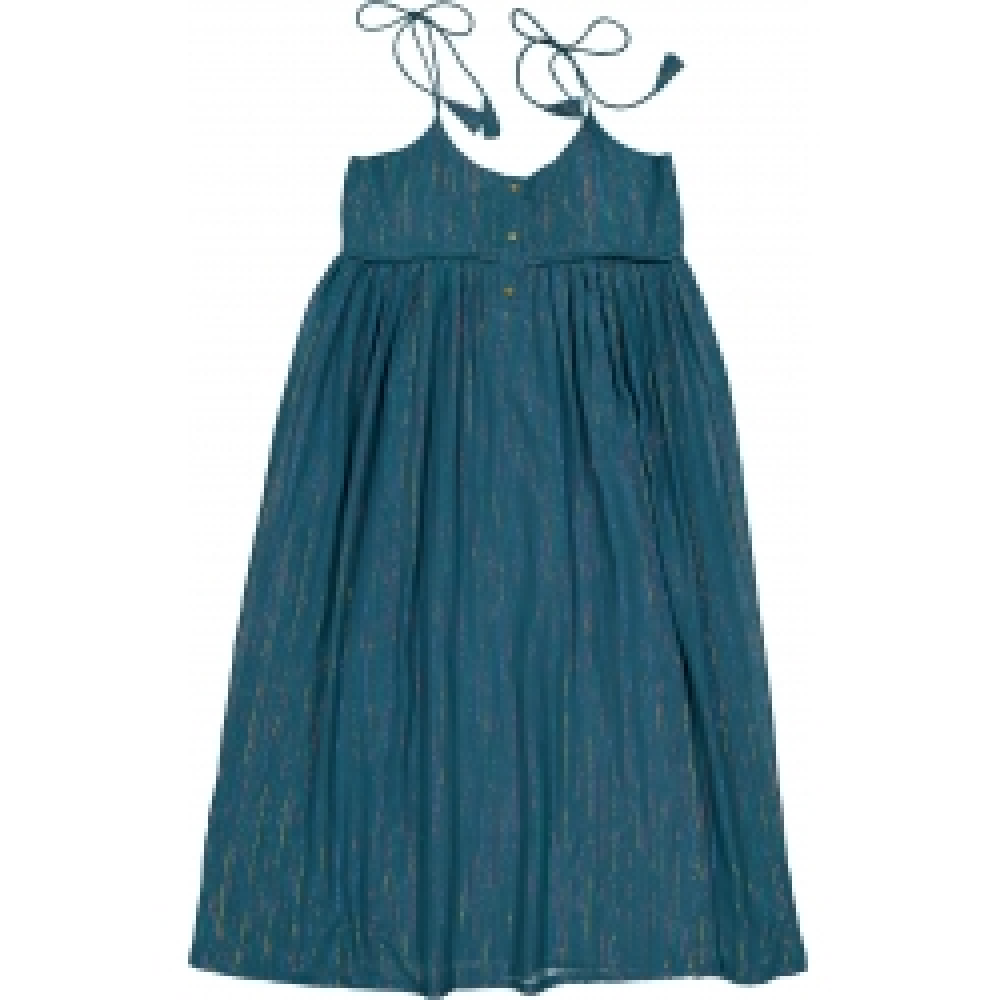 Dress Palaka Stripes Lurex...