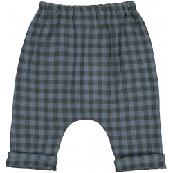 Trousers Jungle Check - BLUE