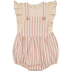 Overall Camion Stripes - PINK