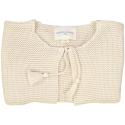 Cardigan Edith Gold Lurex...