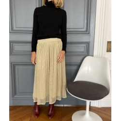 Skirt Irene Pleated Glitter...
