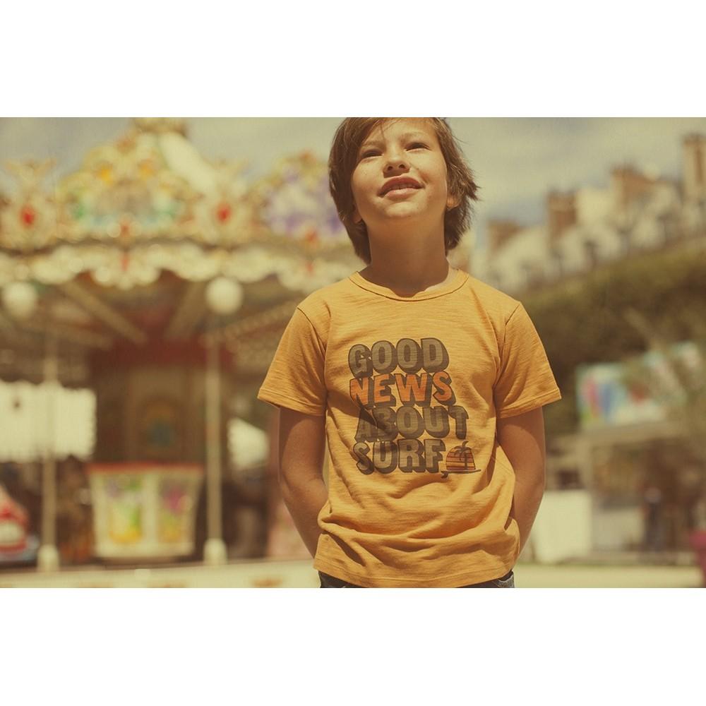 T-shirt Usa Jersey Surf - SAND